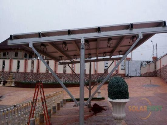 solar PV carport solution