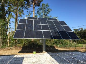 Dual axis solar tracking system manufacturer