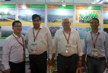 Our company attend the India fair